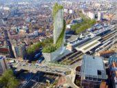 Imagem do dia: Projeto da torre vegetal Occitânia