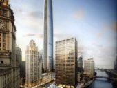 Imagem do dia: Torre de 433 metros de altura deverá nascer em breve no centro de Chicago
