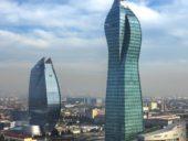 Imagem do dia: Torre SOCAR em Baku é o mais alto edifício do Azerbaijão