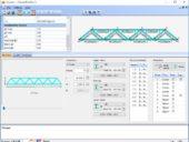 Trusses+ 1.0.3.16: Projeto de estruturas treliçadas de Engenharia Civil