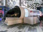 Imagem do dia: Revelado veículo do sistema avançado de transporte Hyperloop One no Dubai